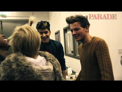 PARADE Magazine Goes Behind The Scenes With One Direction