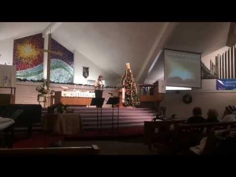 Mary Decker Preaches 1-4-15