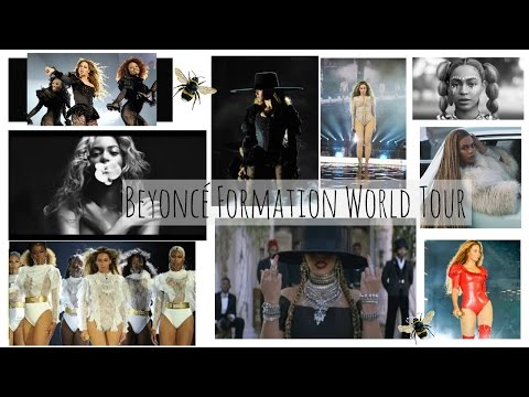 Beyoncé -The Formation World Tour | Live In Concert | VLOG