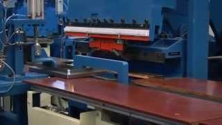 Multifold Sheet Metal Folding Machinery For Filing Cabinets.