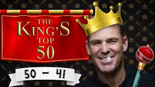 Shane Warne's top wickets on Aussie soil: 50-41
