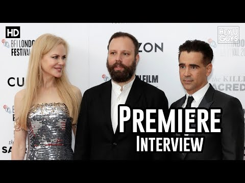 Director Yorgos Lanthimos | The Killing of a Sacred Deer Premiere Interviews | LFF 2017