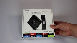 Review: Jetstream 4K Ultra HD Android TV Box with Voice Search Remote