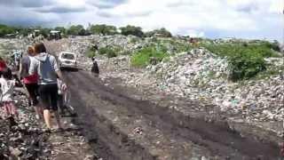 Victoria- Walking through Gioti Garbage Slums #1