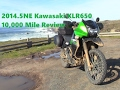 Kawasaki KLR650 Review 10,000 miles
