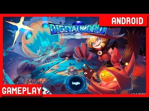 Digital World Adventure - Digimon (FREE Android) Gameplay First Look!