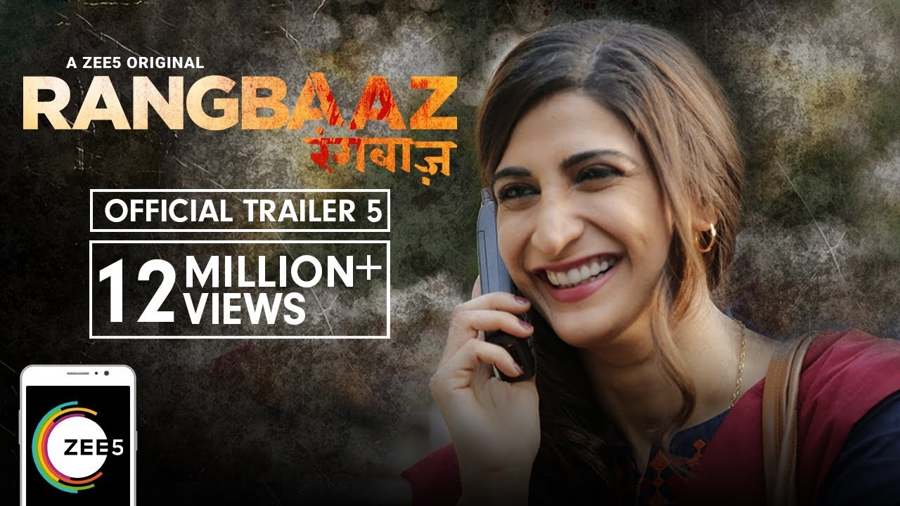 Download Rangbaaz | Official Trailer 5 | A ZEE5 Original | Aahana Kumra | Streaming Now On ZEE5