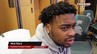 Michigan State Basketball: Nick Ward after 93-65 Rutgers win