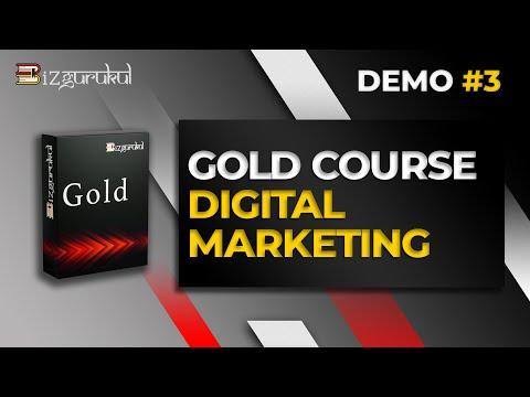 BIZGURUKUL GOLD COURSE: DIGITAL MARKETING (DEMO VIDEO#3)