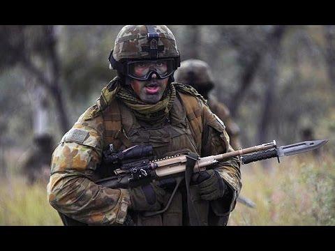 Australian Army Training alongside U.S. Marines at Talisman Sabre 2015 - Air Assault Drills
