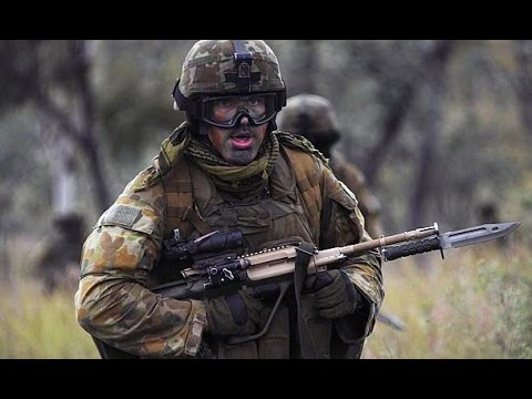 Australian Army Training alongside U.S. Marines at Talisman Sabre 2015 - Air Assault Drills