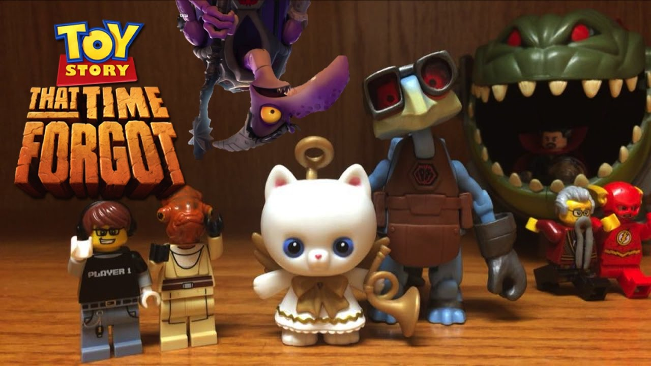 toy story that time forgot angel kitty raygon toys christmas special figures review - Toy Story Christmas Special