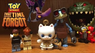 TOY STORY That Time Forgot Angel Kitty & Raygon Toys CHRISTMAS Special Figures Review