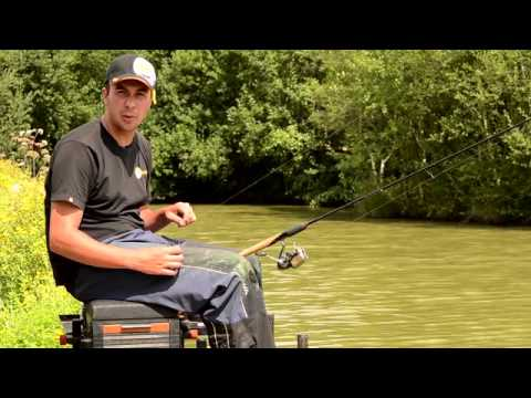 Tackle Guru Pemb Fishing Shallow with the Pellet Feeder