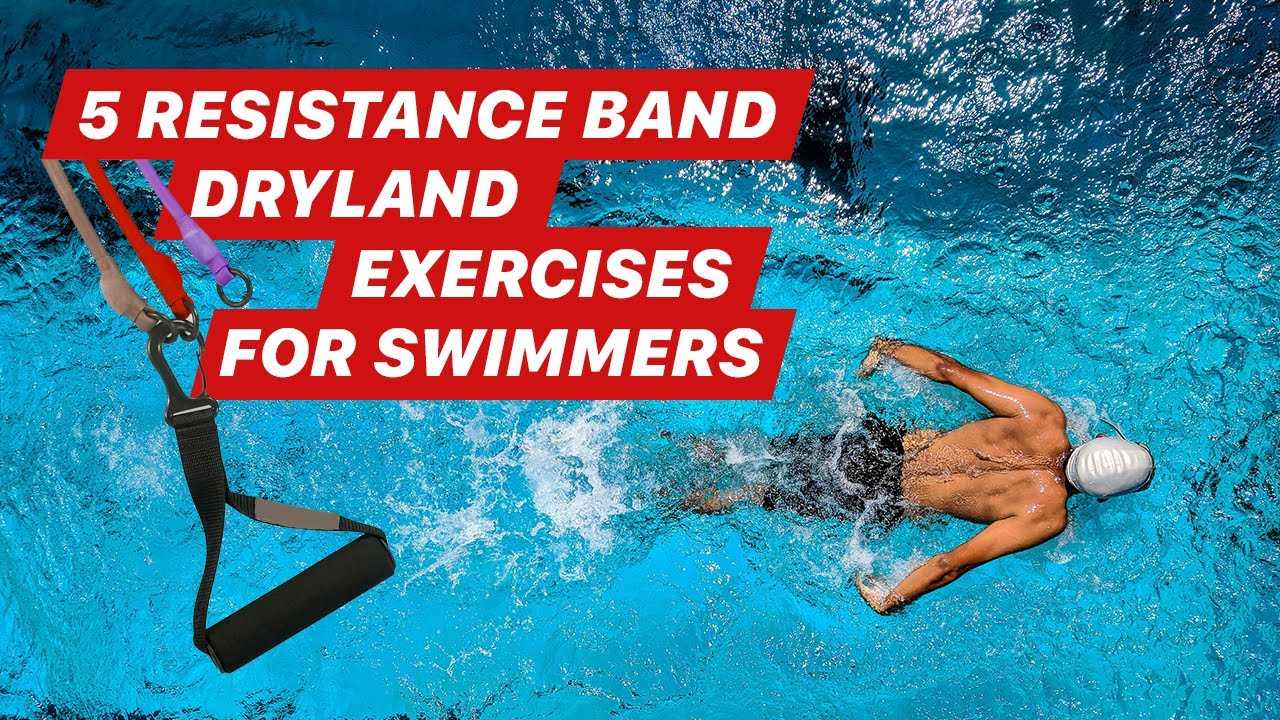 5 Resistance Band Dryland Exercises For Swimmers Youtube