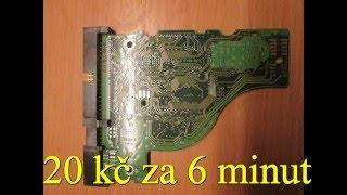 Jak rozebrat a recyklovat HDD (harddisk) na zlato, hliník, elekroodpad a neodymové magnety