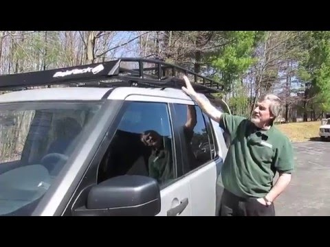 Install Baja Roof Rack With Roof Rails On Your LR3