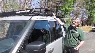 Install Baja Roof Rack With Roof Rails On Your LR3 video screen shot