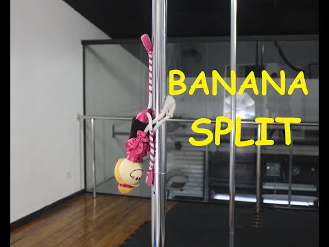 Banana Split - Tutorial de Pole Dance por Alessandra Rancan