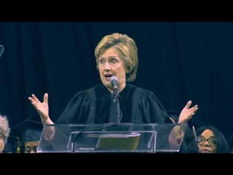 Hillary Wows Medgar Evers Grads
