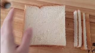 [ 간식 ]식빵 치즈스틱만들기/식빵튀김/식빵요리 / 튀…
