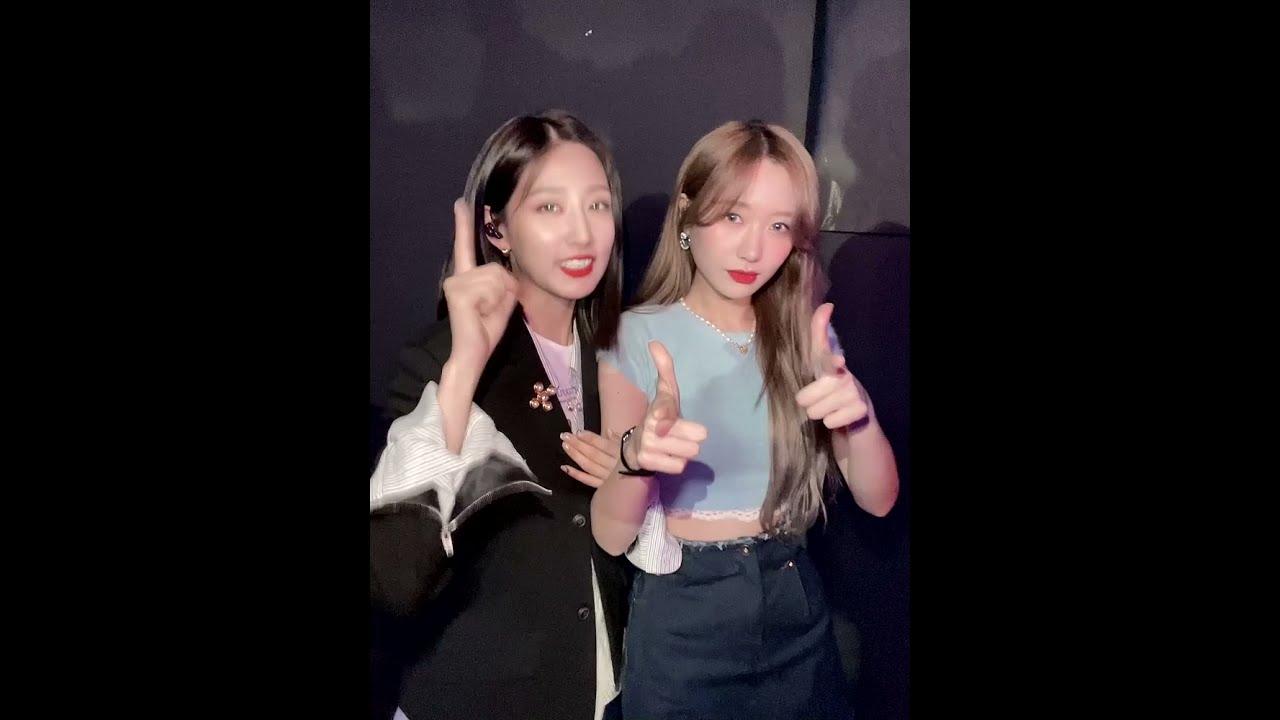 [Greeting] 류수정&정예인의 예고장💌|woollim THE LIVE 4