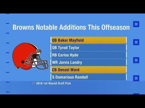 Remodeled Browns added several underrated players | Good Morning Football | Cleveland Browns
