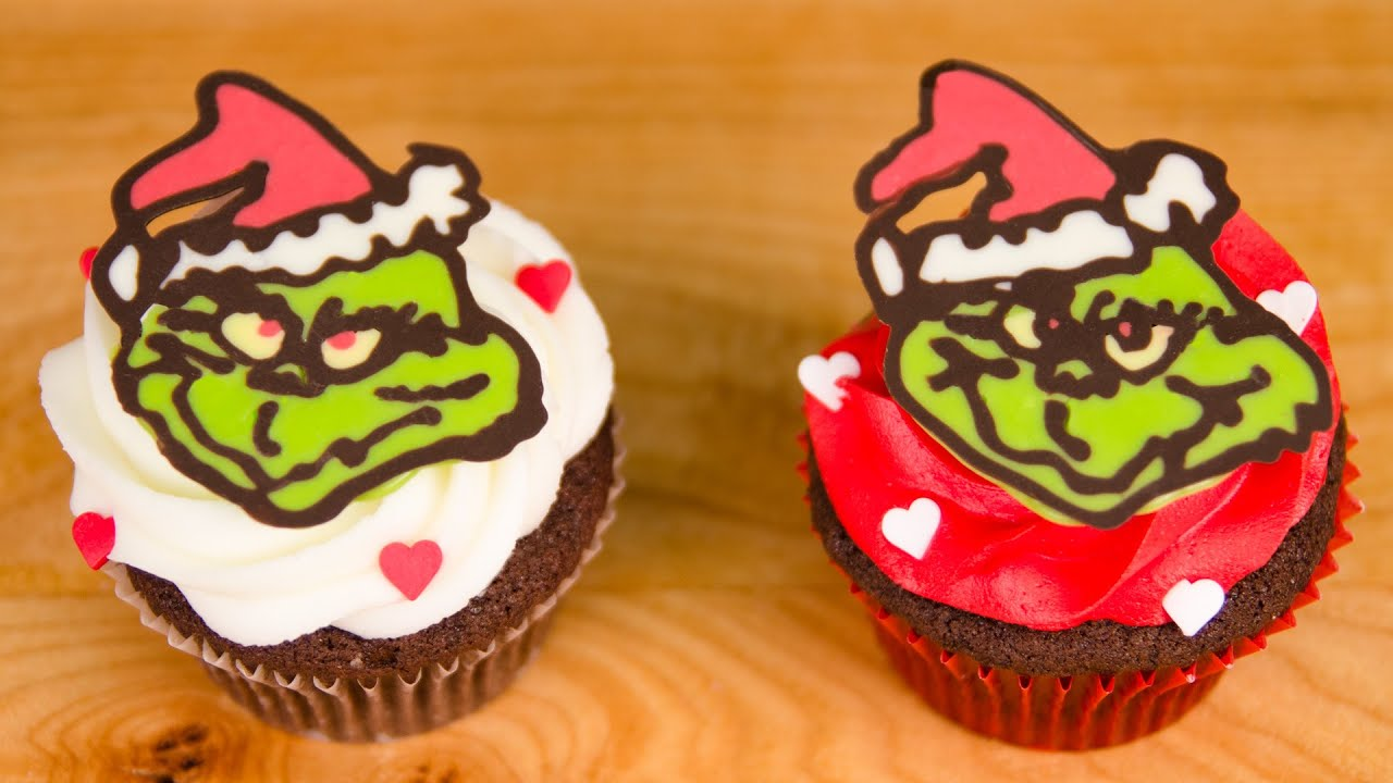Grinch Cupcakes Cakes