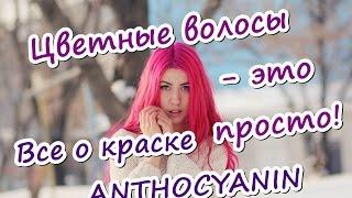 видео Краска Антоцианин Фиолетовый Purple V03