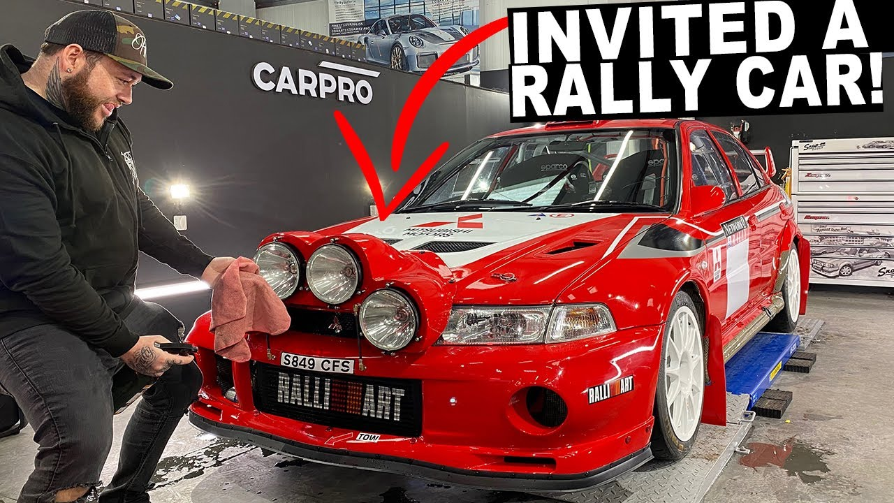How To Deal With Covid 19 Quarantine Invite An Ex Rally Evo 6 With Crazy Anti Lag Youtube