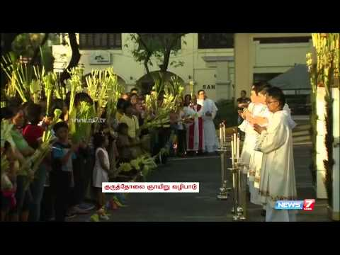 Catholics in Philippines  begin Holy Week with Palm Sunday