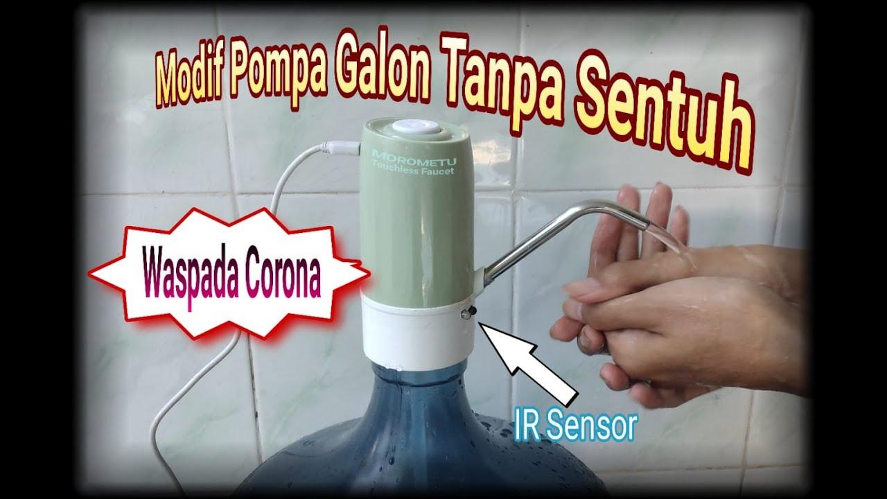 Lukman Arif Wijaya Membuat Sendiri Kran Tanpa Sentuh Anti Corona Touchless Faucet