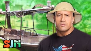 The Rock's Going On A Jungle Cruise! (We Don't Mean Jumanji)