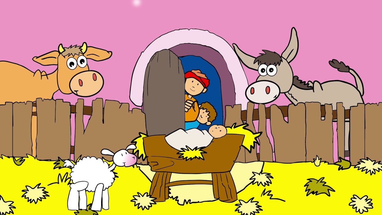 Silent Night, Holy Night - Christmas songs for children with lyrics - YouTube