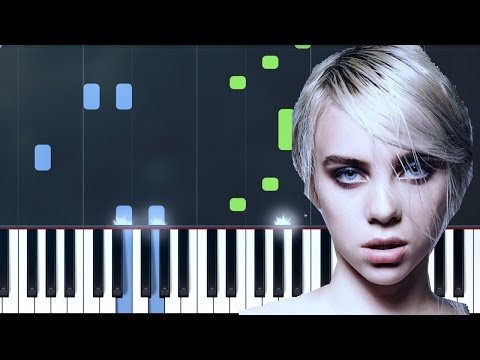 "Billie Eilish - ""idontwannabeyouanymore"" Piano Tutorial - Chords - How To Play - Cover"