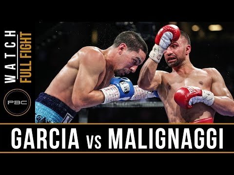 Garcia vs Malignaggi FULL FIGHT: August 1, 2015 - PBC on ESPN