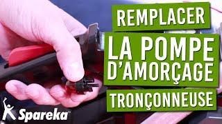 Comment remplacer la pompe d'amorçage de votre tronçonneuse