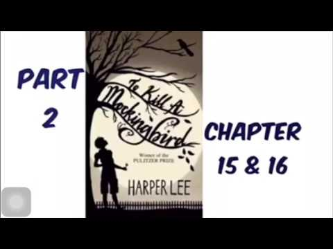 To Kill A Mockingbird By Harper Lee Part 2 Chapter 15 & 16 Audiobook Read Aloud