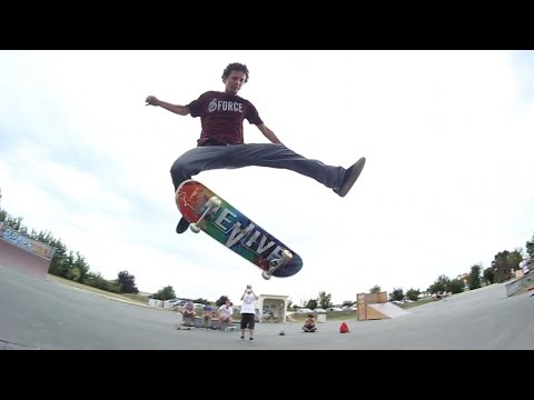 55 INCREDIBLE SKATEBOARDING TRICKS | JONNY GIGER