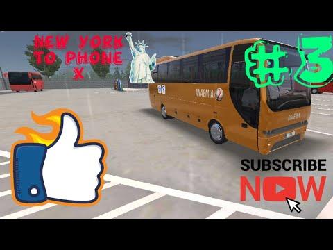 #bus  simulator ultimate #Anaemia Gaming | travelling passenger | New York  to phoenix. #3 |