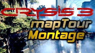 crysis 3 map tour action montage pc multiplayer map seeing