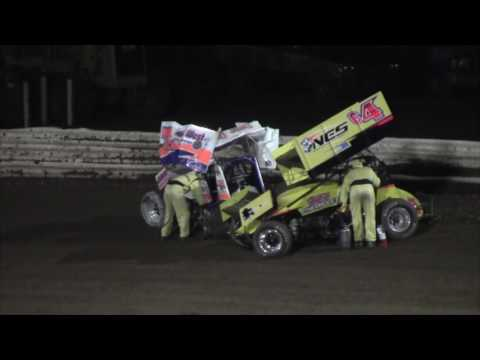 Williams Grove Speedway 410 and 358 Sprint Car Highlights 8-05-16
