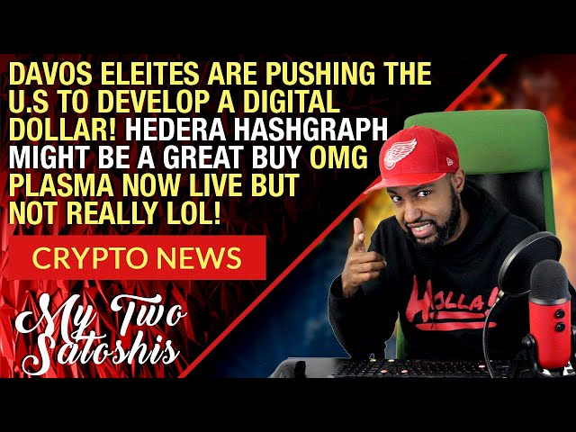 Crypto Market Update: Hedera Hashgraph Might Be A Great Buy | Davos Talks US Digital Currency & More