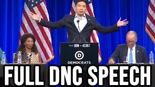 Andrew Yang Speaks at the DNC Summer Meeting | Full Speech August 23rd 2019