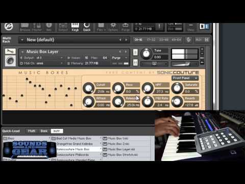 Soniccouture free Music Box library review - SoundsAndGear