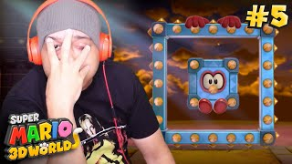 I DRANK AN ENERGY DRINK BEFORE THIS.. [SUPER MARIO 3D WORLD] [#05]