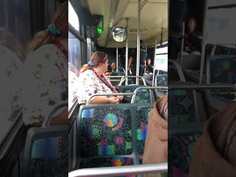 C-Tran bus pulled over by cops