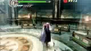 DMC4 - Nero Vs Dante 1 (Devil Hunter Mode)