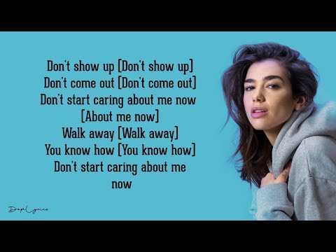 Dua Lipa - Don't Start Now (Lyrics) 🎵