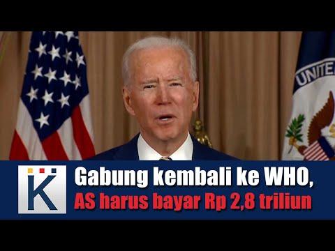 Gabung kembali ke WHO, AS harus bayar Rp 2,8 triliun